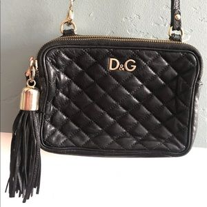 Dolce & Gabbana Quilted Lily Glam Crossbody